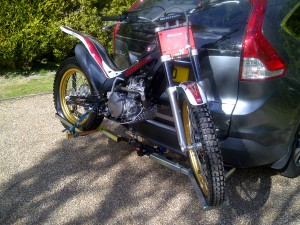 Motorbike Rack